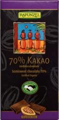 Rapunzel ビターチョコレート カカオ70% 乳製品不使用