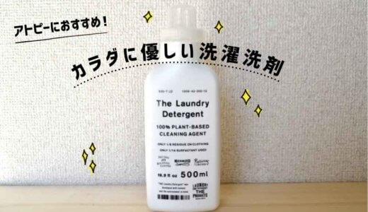 アトピーのぼくがおすすめする環境と肌に優しい【THE洗濯洗剤】