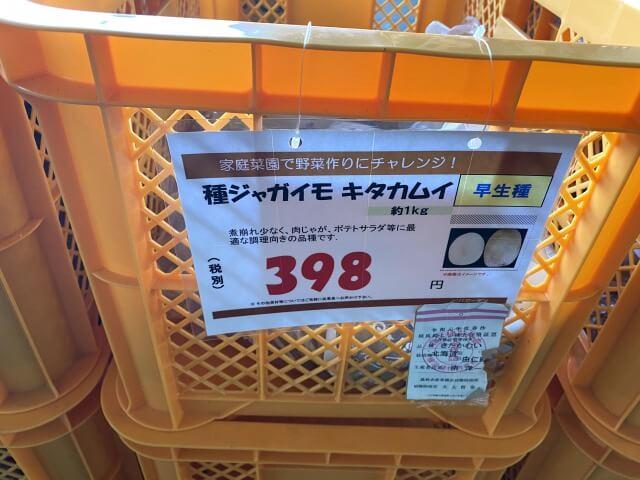 キタカムイ 種芋 スーパービバホーム