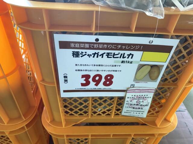 ピルカ 種芋 スーパービバホーム
